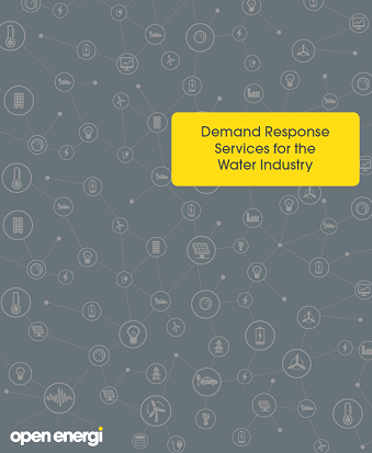 Demand Response services for the water industry